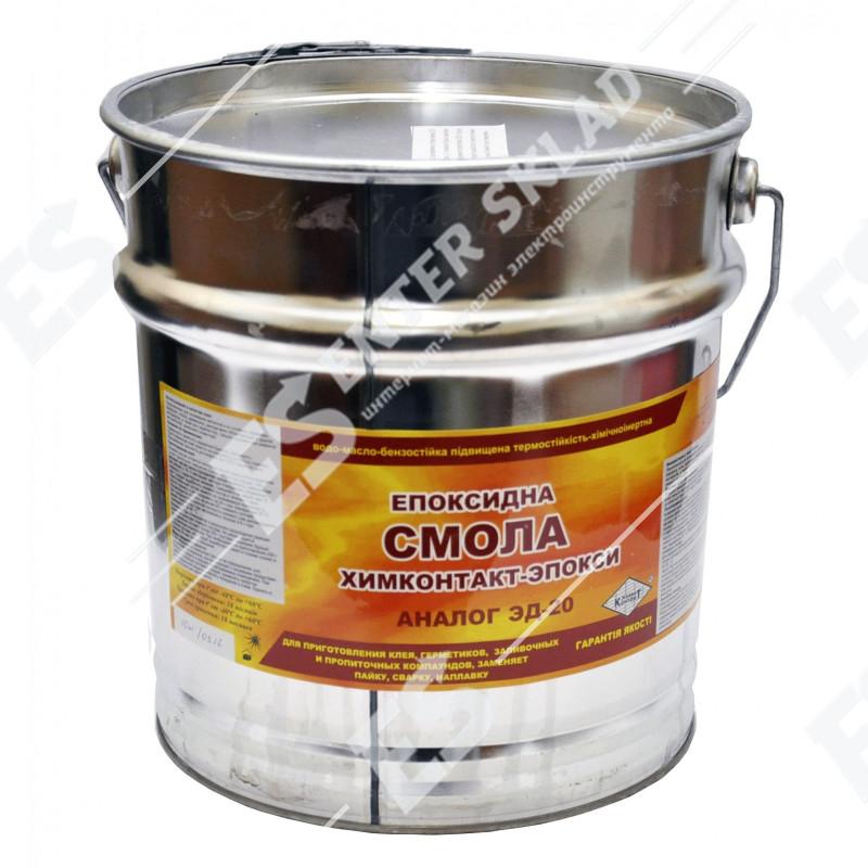 Эпоксидная смола ведро 10 кг (Аналог ЭД-20)