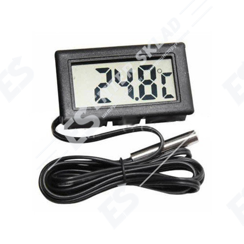 Цифровой термогигрометр с выносным датчиком  ТРМ 10