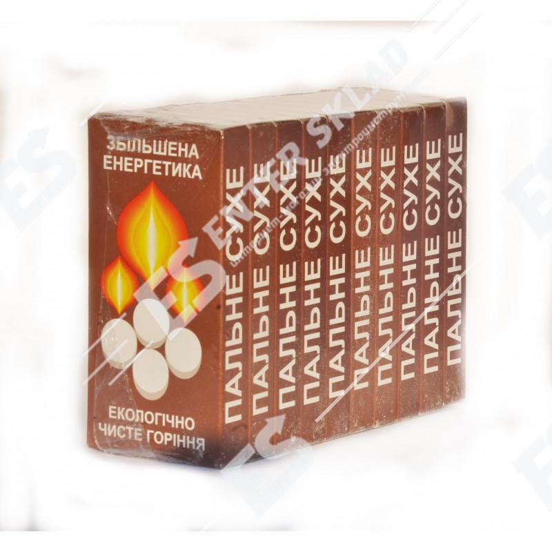 Сухое горючее (сухой спирт) для разжигания огня 10х8 табл./упак.