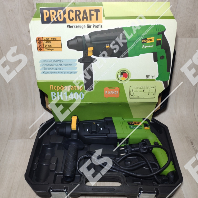 Перфоратор Procraft BH-1400 NEW