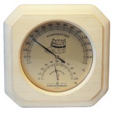 Термометр гигрометр для бани и сауны ТГС-1