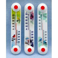 Термометр уличный оконный «Снеговик», «Птички» ТБ-3 исп.11
