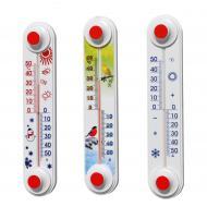 Термометр уличный оконный  ТБ-3 исп.11 Снеговик, Птички (-50/+50°С)