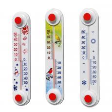 Термометр уличный оконный  ТБ-3 исп.11 Снеговик, Птички
