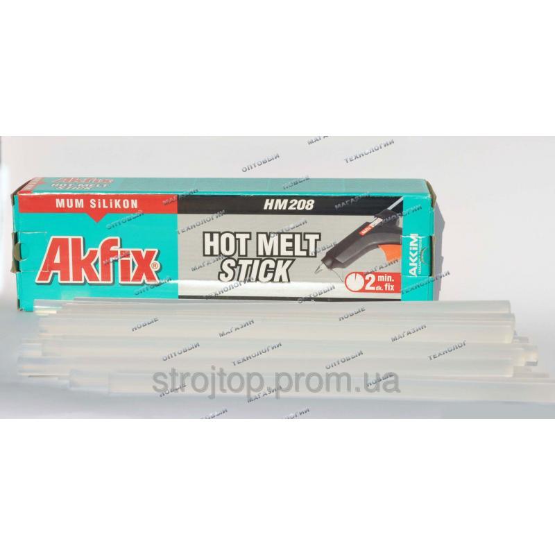 Стержни клеевые Akfix d11 мм, дл. 300 мм 34 шт. 1 кг
