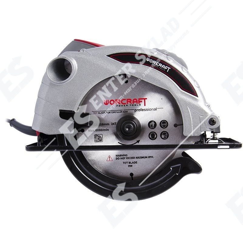 Пила дисковая (циркулярка) Worcraft CS13-185