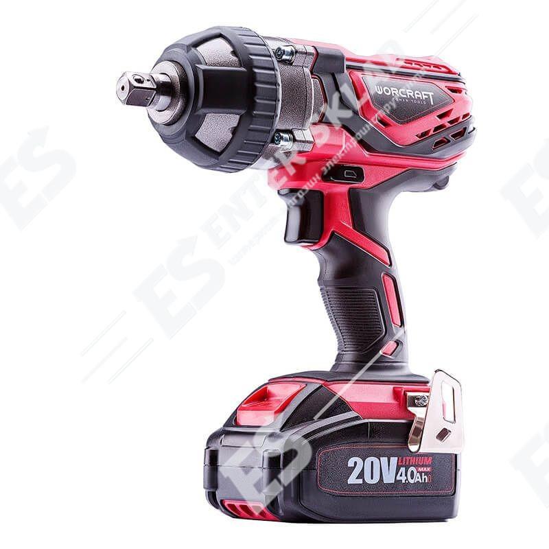 Гайковерт ударный аккумуляторный Worcraft CIW-S20Li, 350 Нм, без аккумулятора