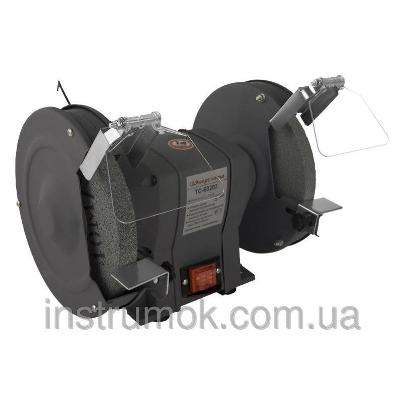 Заточной точильный станок 200 мм, 400 Вт Энергомаш ТС-60202
