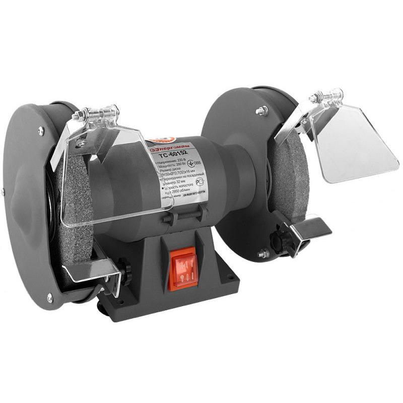 Точильный станок Энергомаш 150 мм, 280 Вт ТС-60152