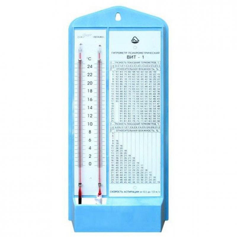 Гигрометр психрометрический ВИТ-1, 0–24°С