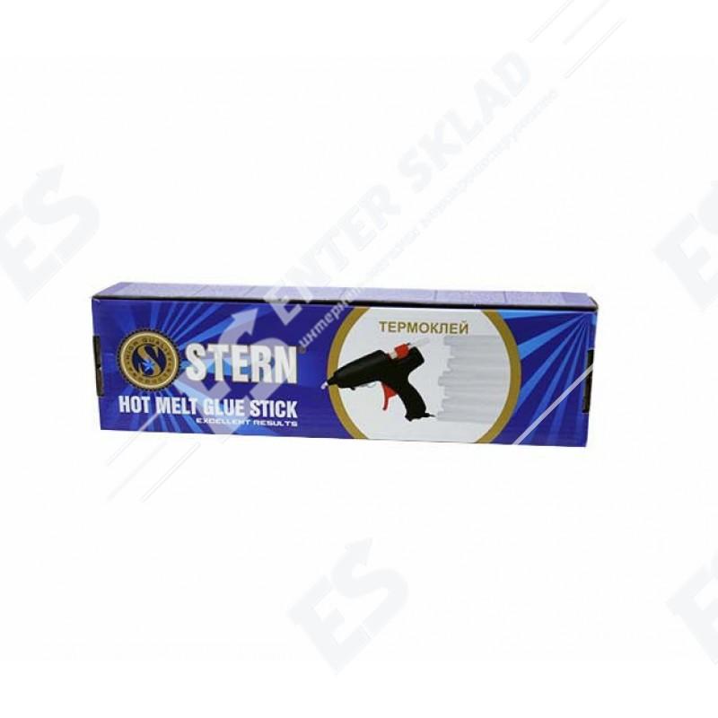 Клеевые стержни Stern 7.4 мм прозрачные 1 кг, 82 шт./компл.