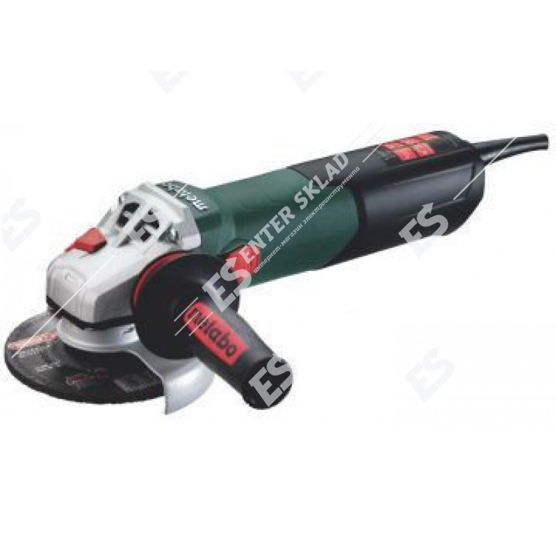 Болгарка Metabo WEVA 15 – 125 Quick, 1550 Вт