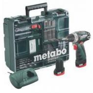 Шуруповерт аккумуляторный Metabo PowerMaxx BS 10,8 В