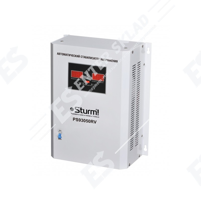 Стабилизатор напряжения однофазный Sturm PS93051RV